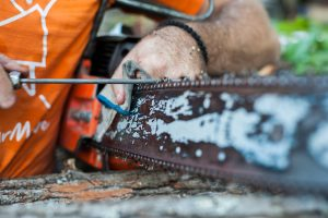 How do You Sharpen a Chainsaw Blade?